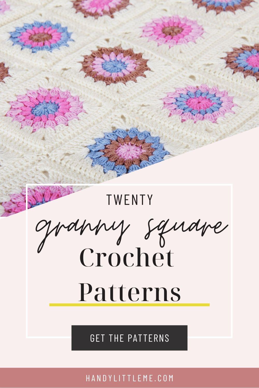 Granny square crochet patterns