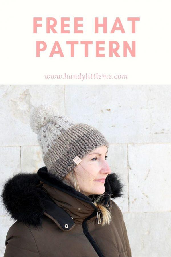 Hat patterns knitting free