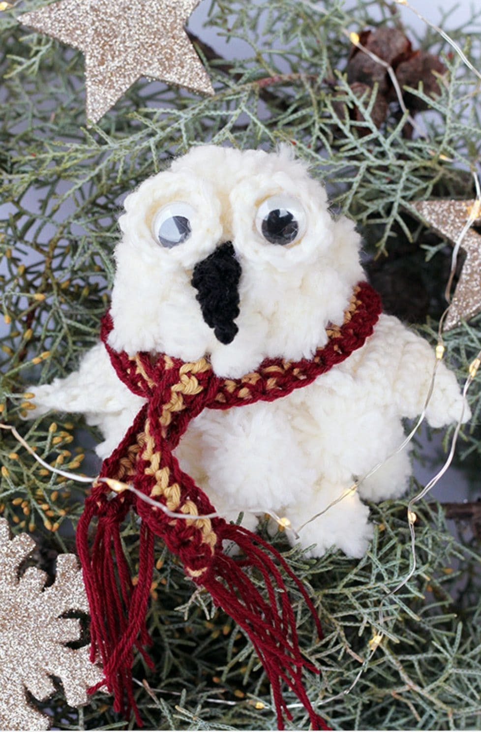Hedwig Ornament | Harry Potter DIY
