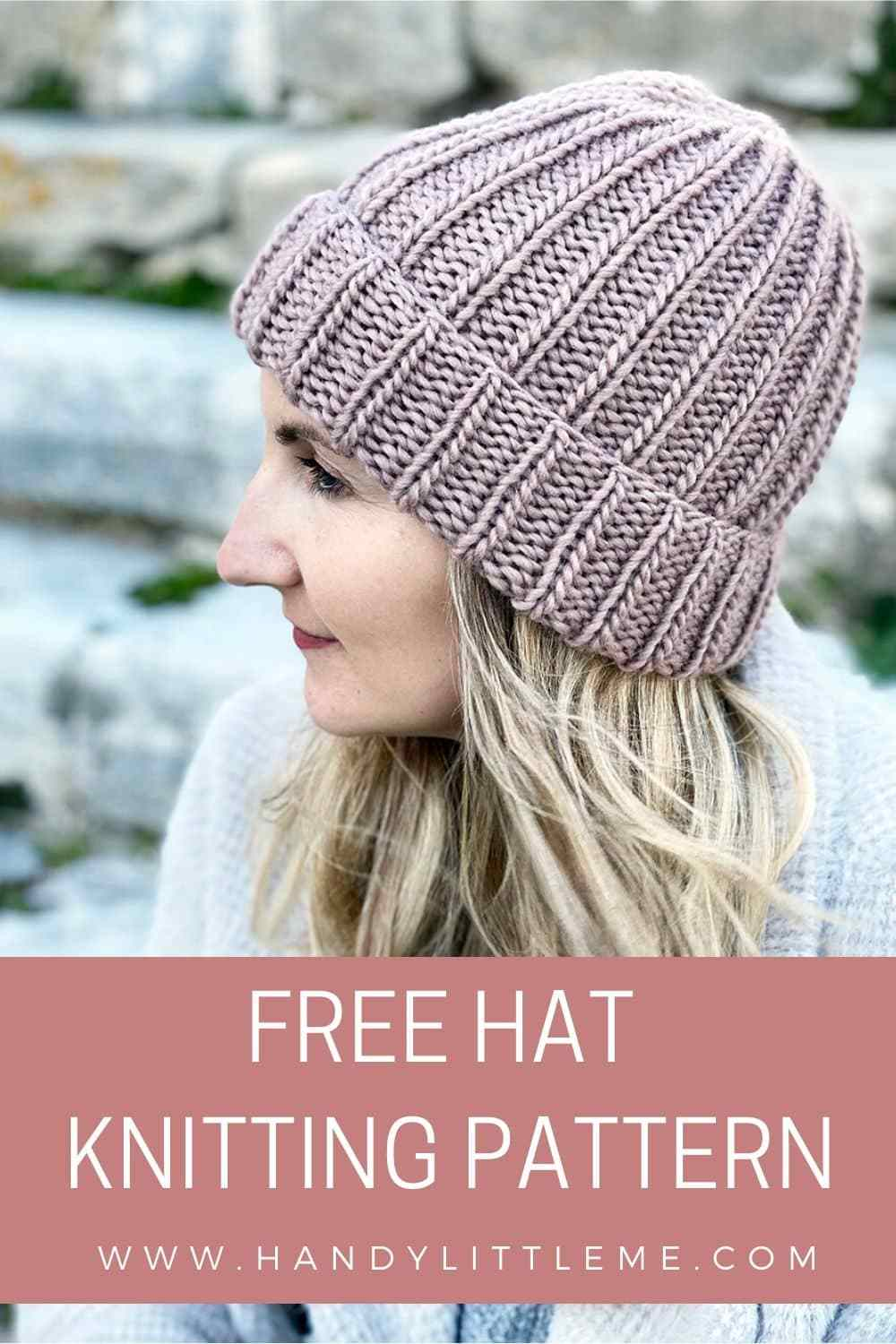 How to knit a hat for beginners