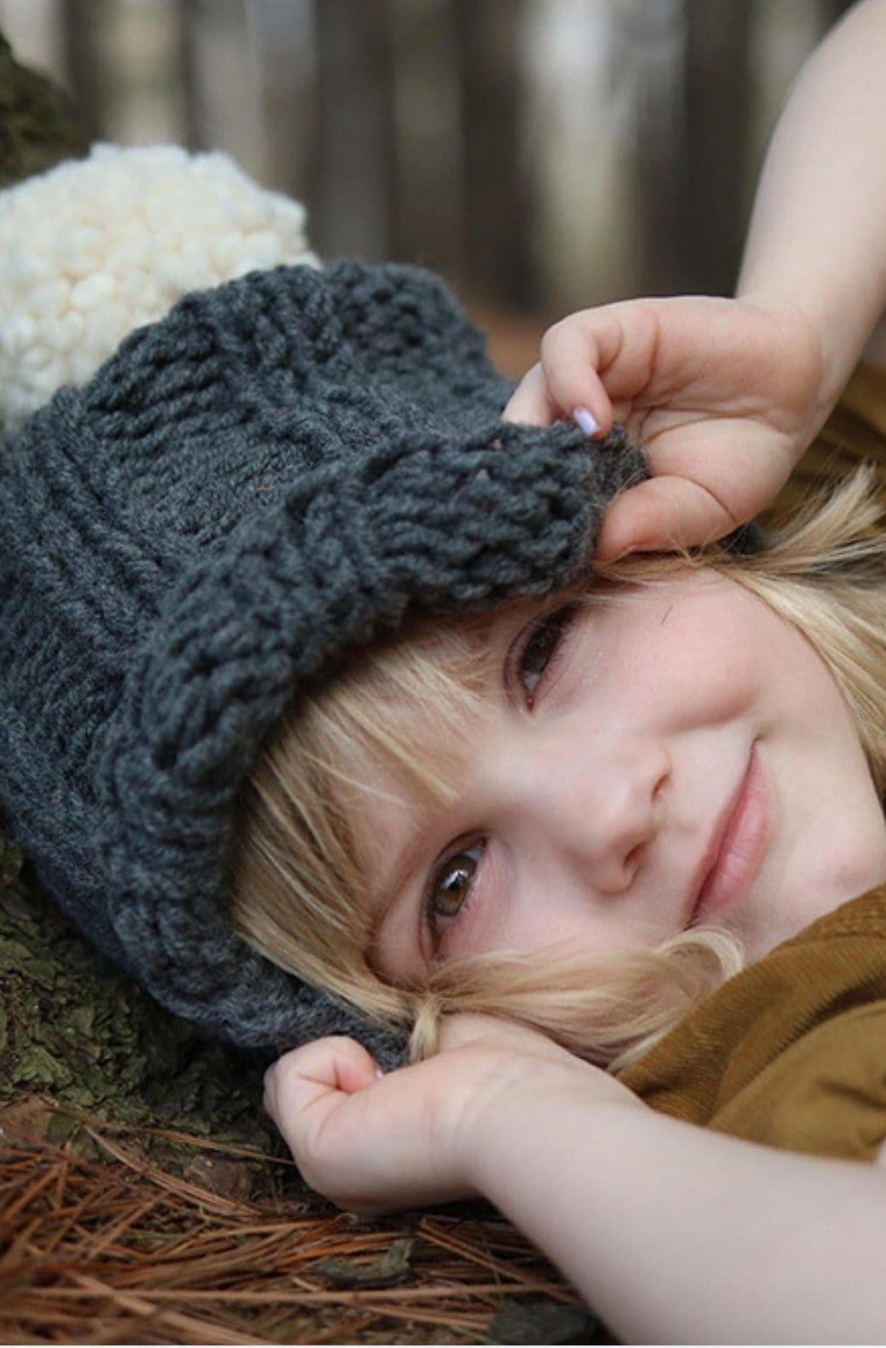 Kids beanie pattern