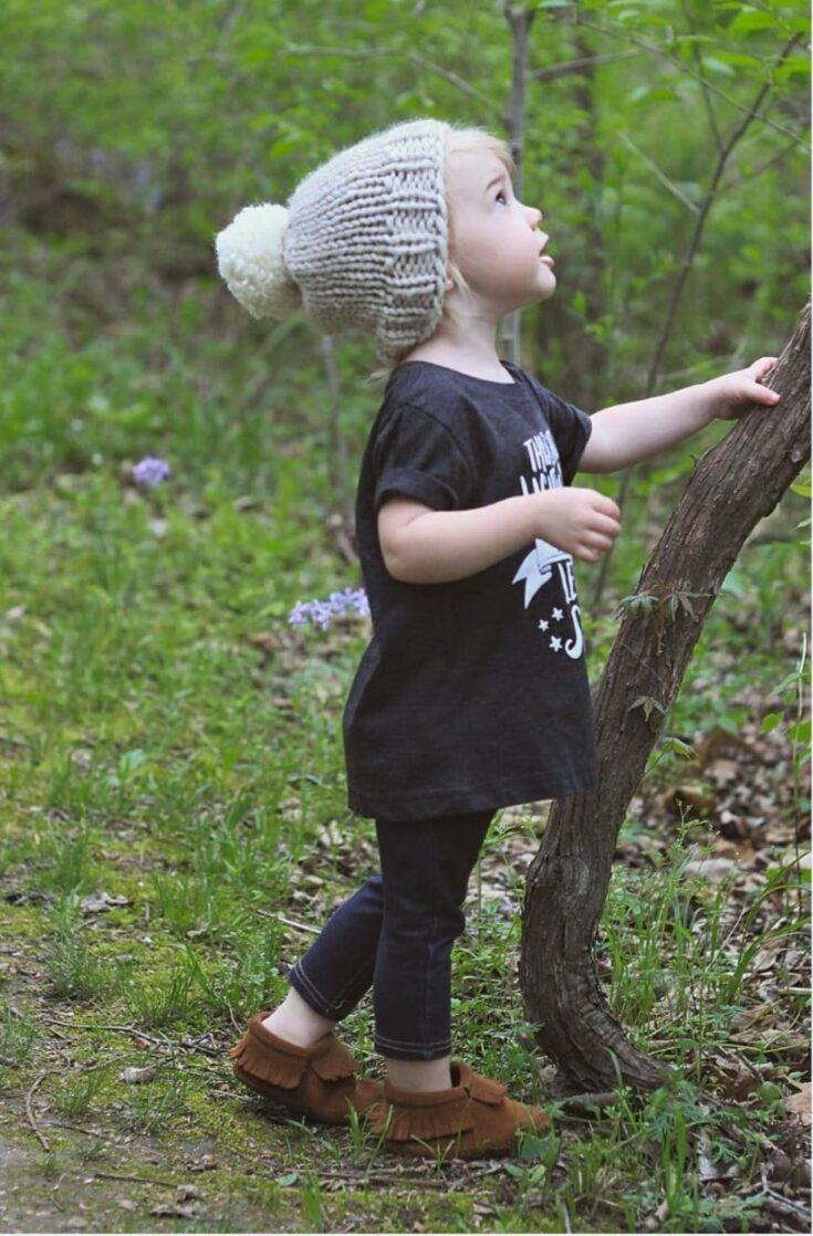 Kids Beanie Hat Pattern {Adorable & Easy DIY}