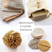 Crochet Bathroom Collection - PDF Pattern
