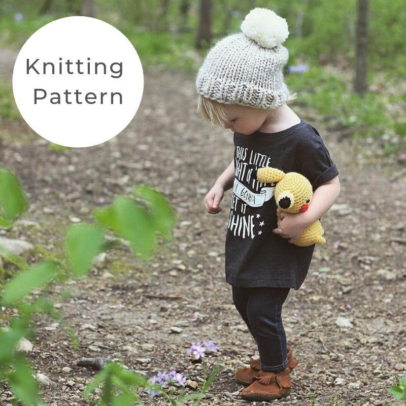 Toddler hat pattern