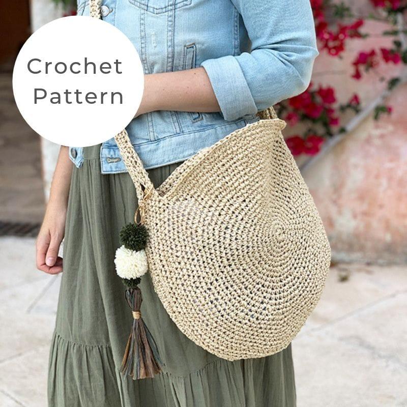 Raffia bag pattern