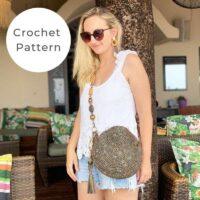 Crochet Crossbody Bag Pattern | Tiki PDF
