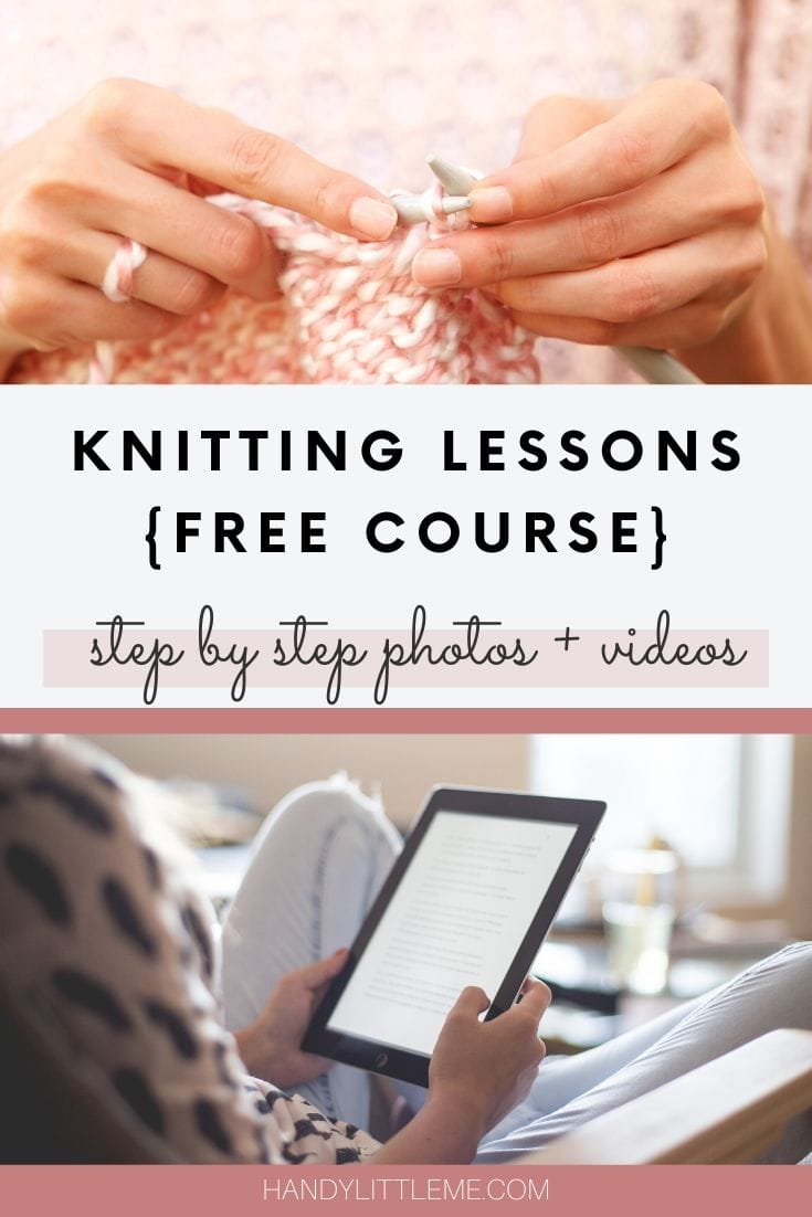 Knitting lessons free course