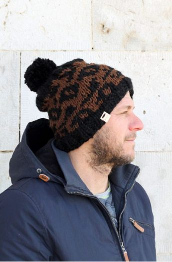 Leopard Print Hat Pattern | The Leonidas