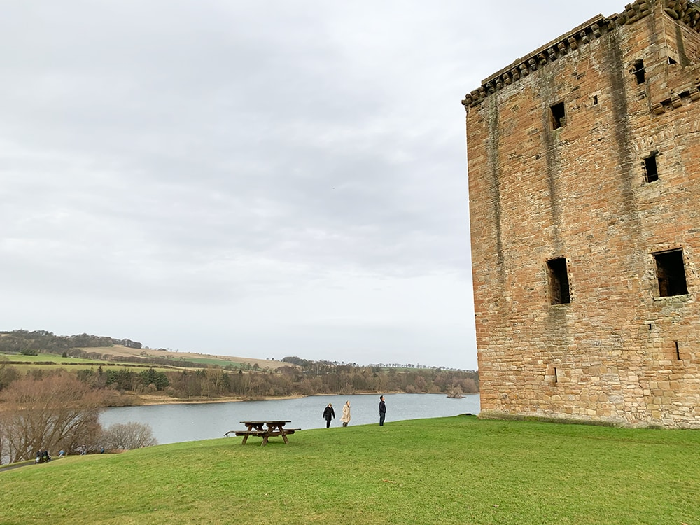 Linlithgow Palace loch view