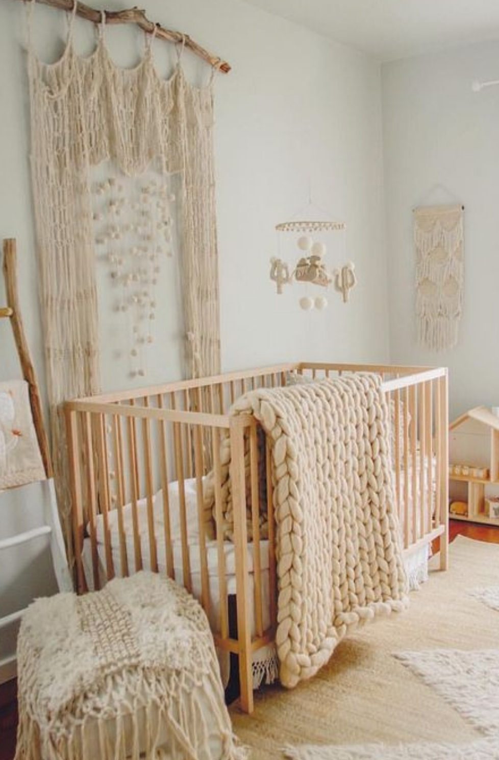 Macrame in the nursery
