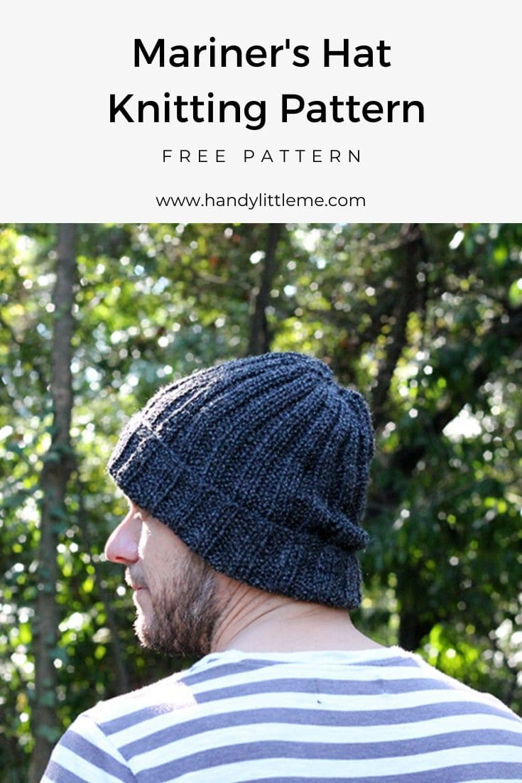 Mariner hat knitting pattern