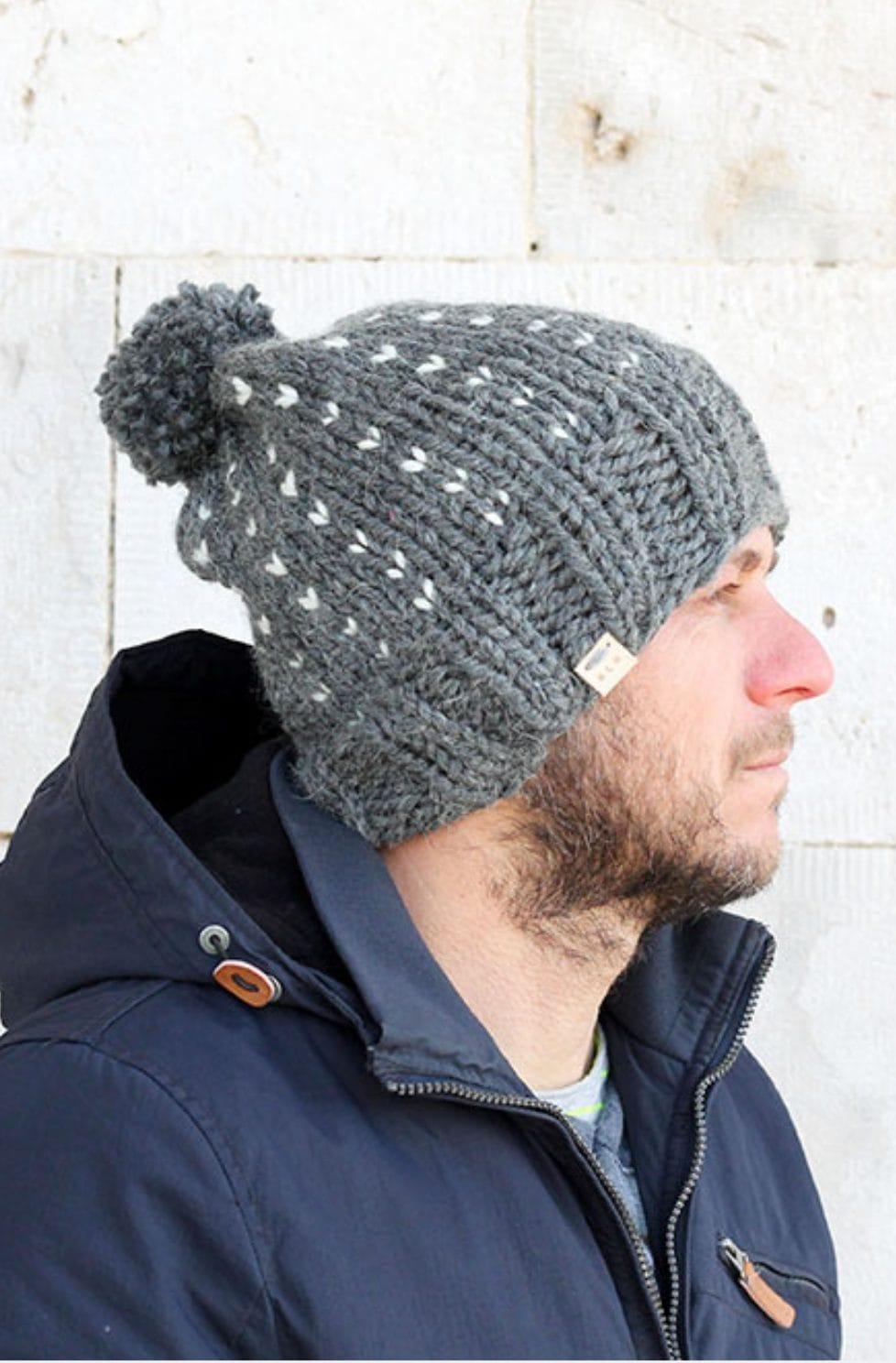 Mens hat pattern