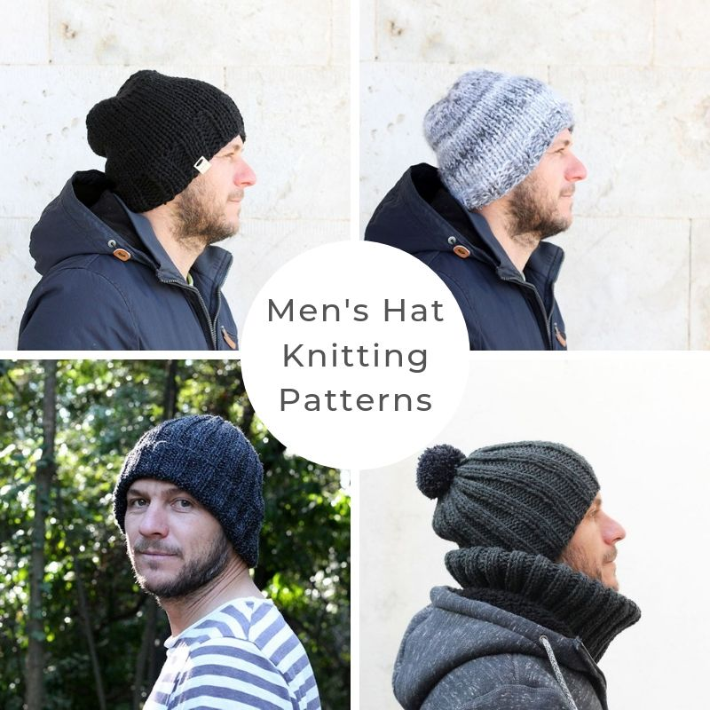 Mens hat patterns