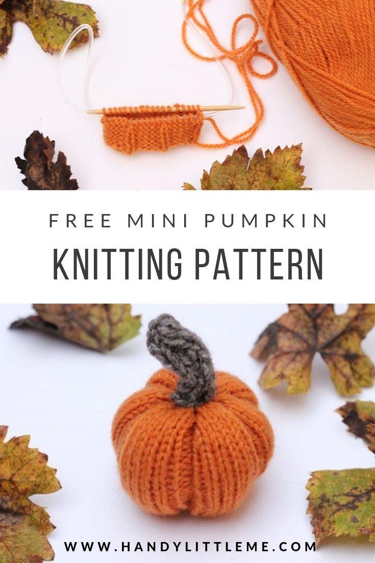 Knitted Pumpkin Pattern