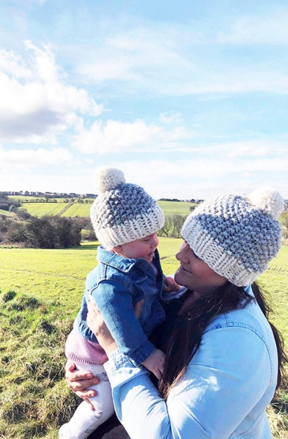 Mommy And Me Beanies | Knitting Patterns