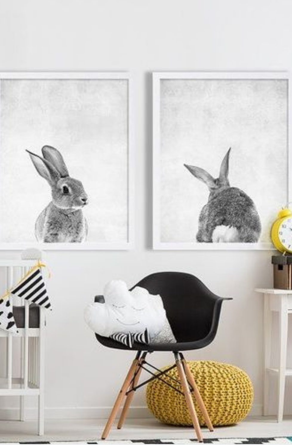 How To Create A Monochrome Nursery
