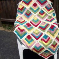 Must-Have Mitered Granny Square Afghan