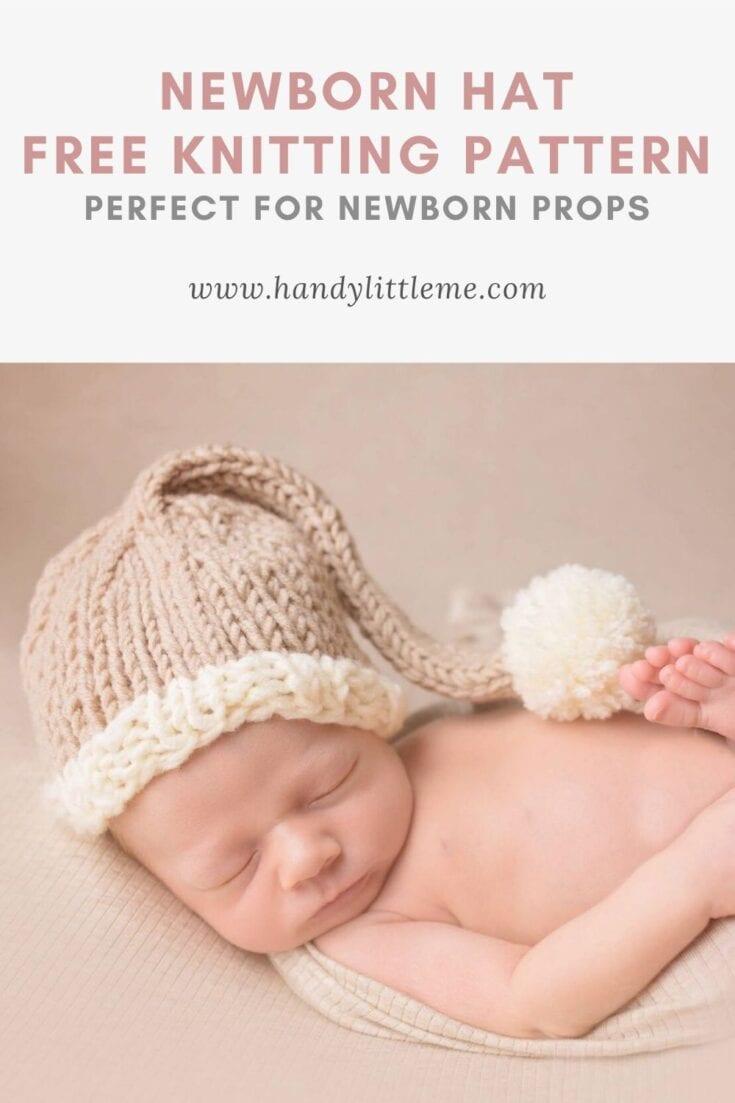 Free Newborn Prop Hat Knitting Pattern