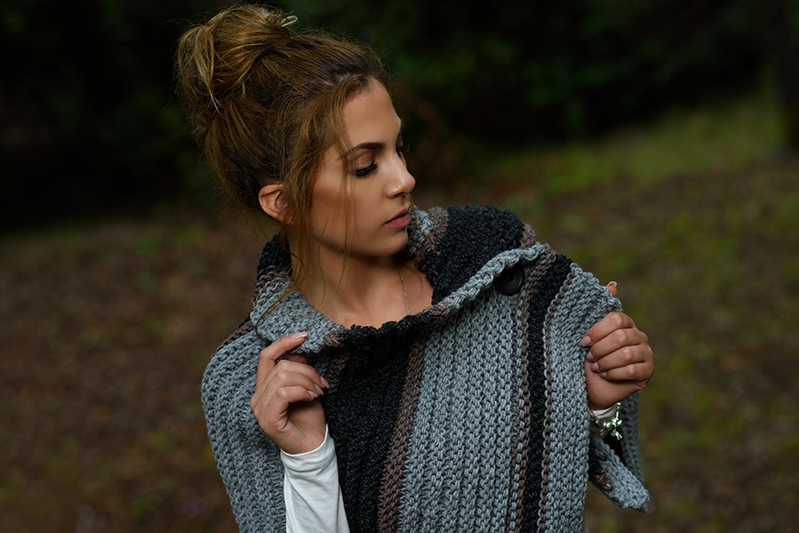 Outlander Brianna knitted capelet
