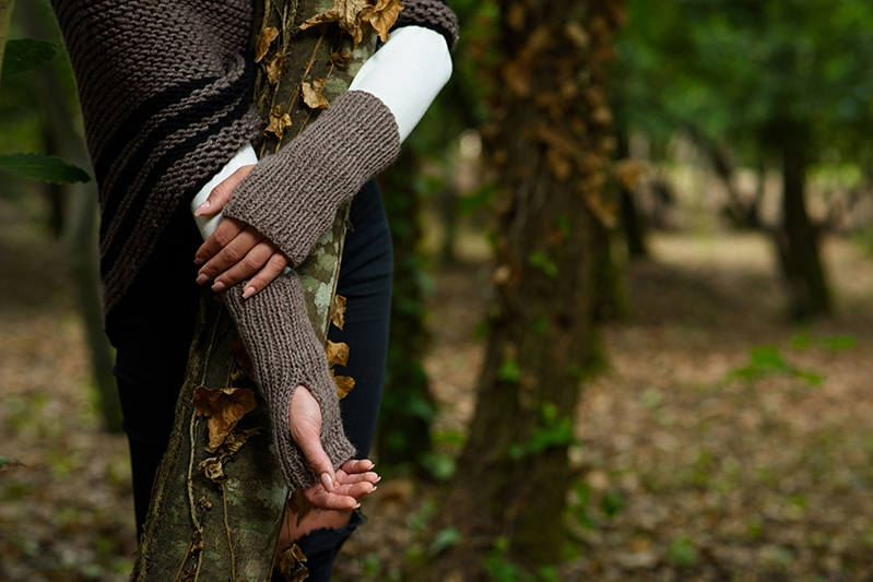 Outlander Claire fingerless gloves