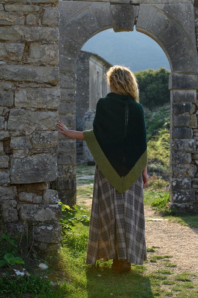 Outlander Green Rent Şal Sezon 5