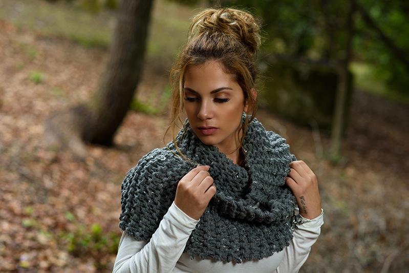 Outlander Brianna knitted scarf