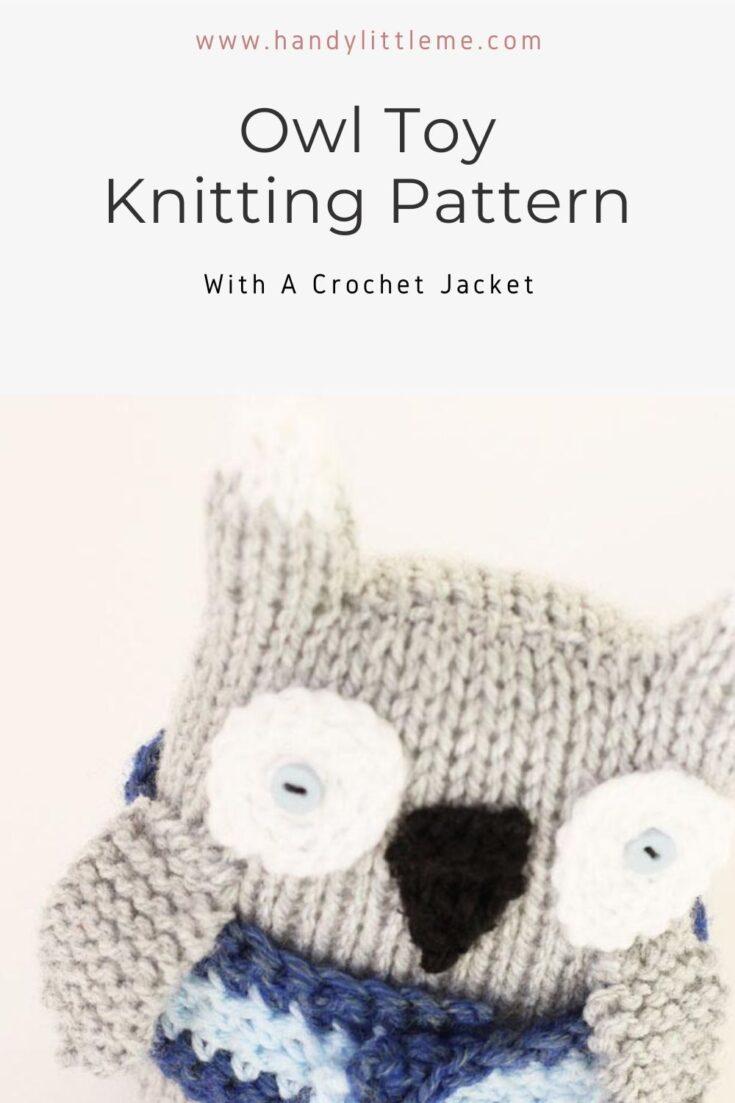 Owl Toy knitting Pattern