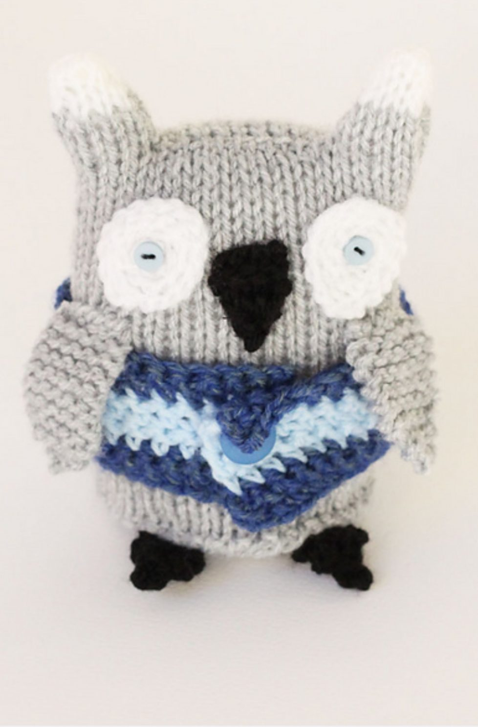 Owl toy pattern
