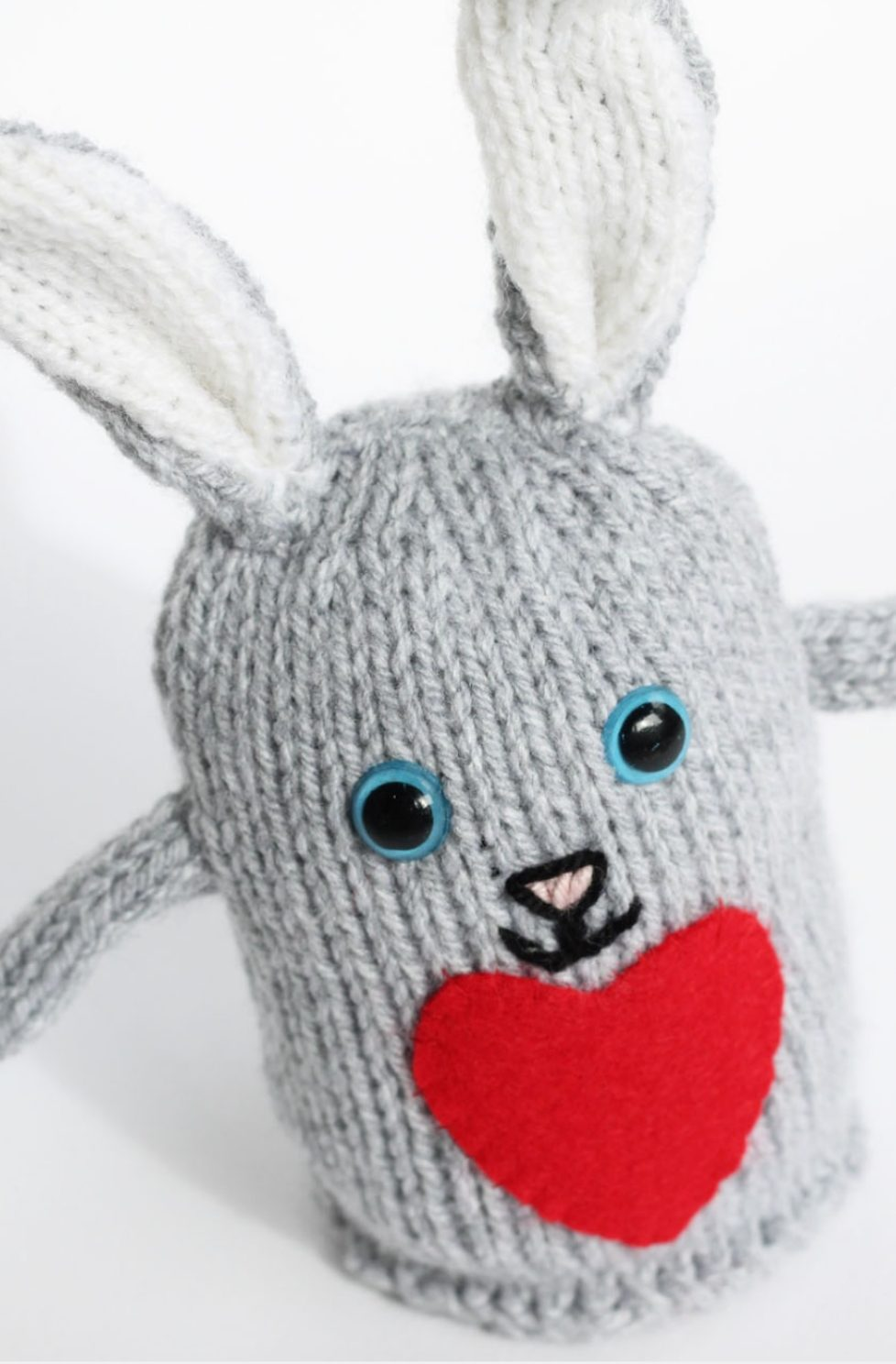 Plush bunny toy
