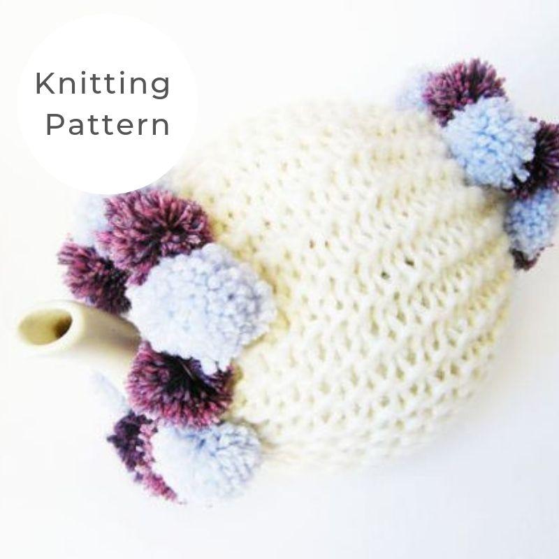 Pom tea cosy pattern