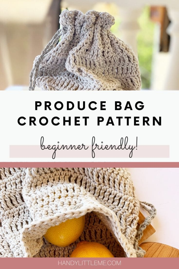 Produce bag crochet pattern