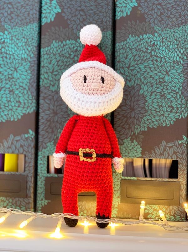 Santa amigurumi
