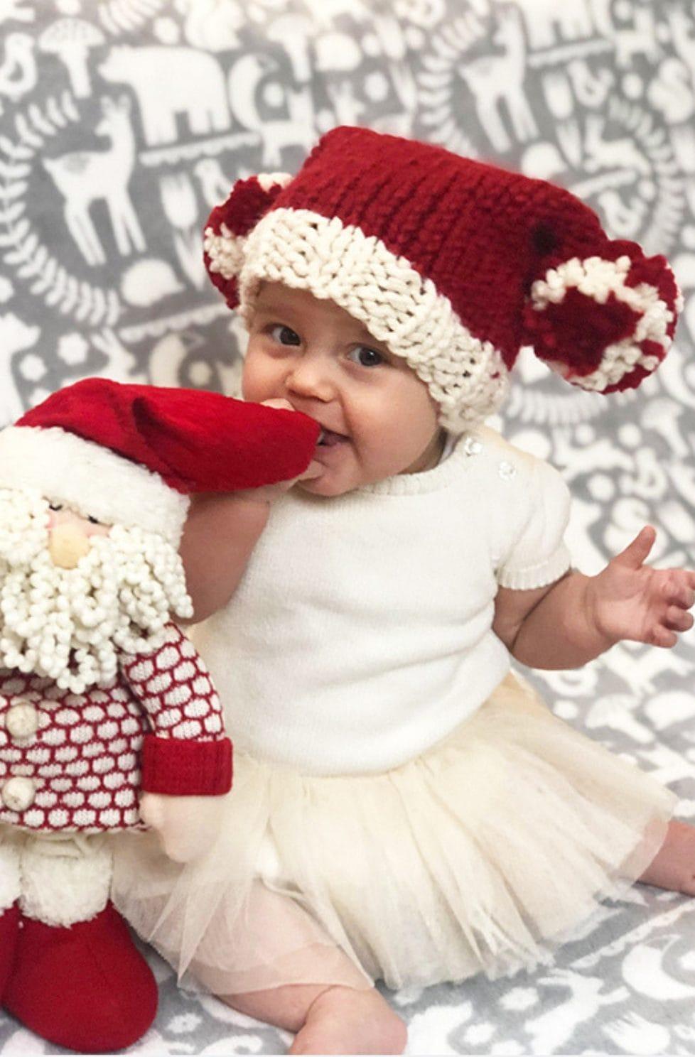 Santa Sack Hat - Free Pattern