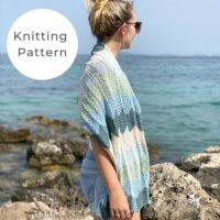 The Sea Glass Shawl Knitting Pattern PDF