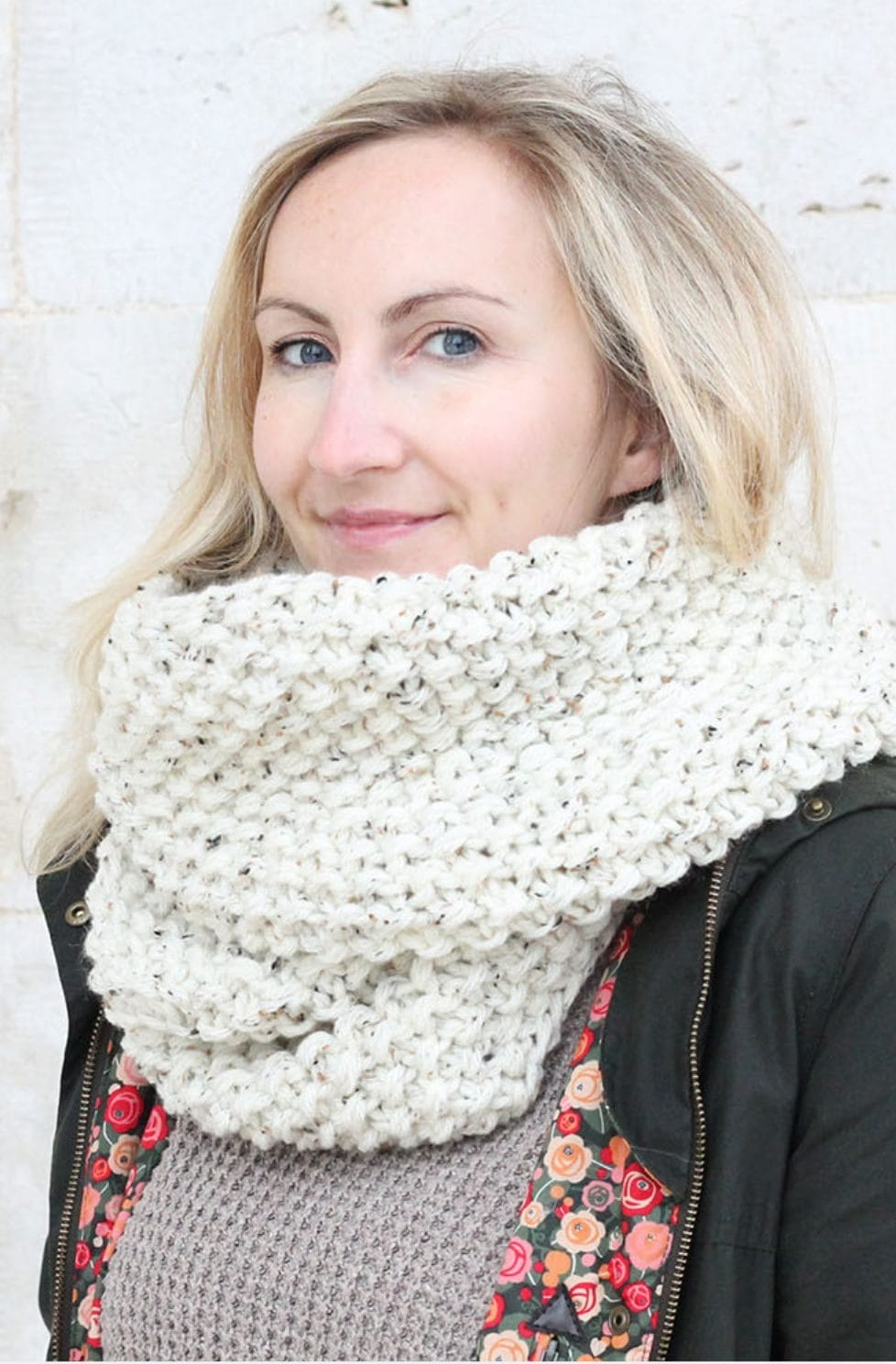Infinity Scarf Pattern | The Nikoletta