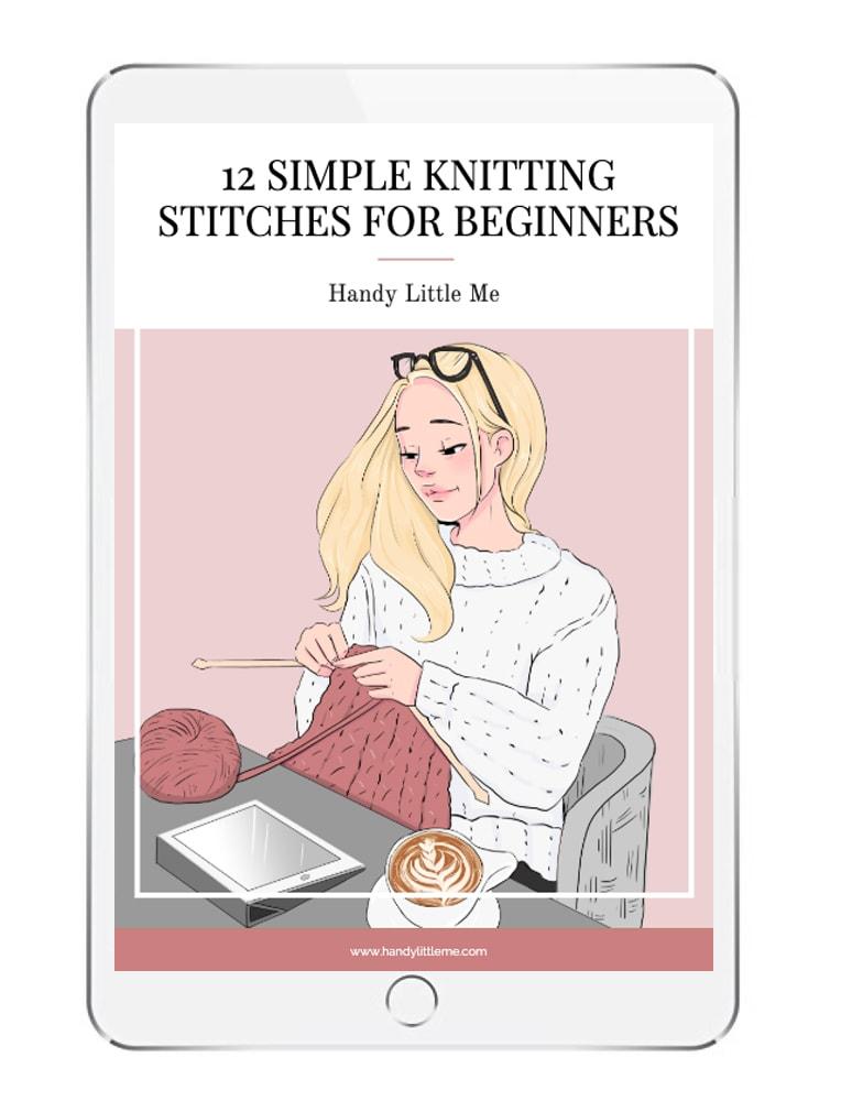Knitting Stitches Ebook
