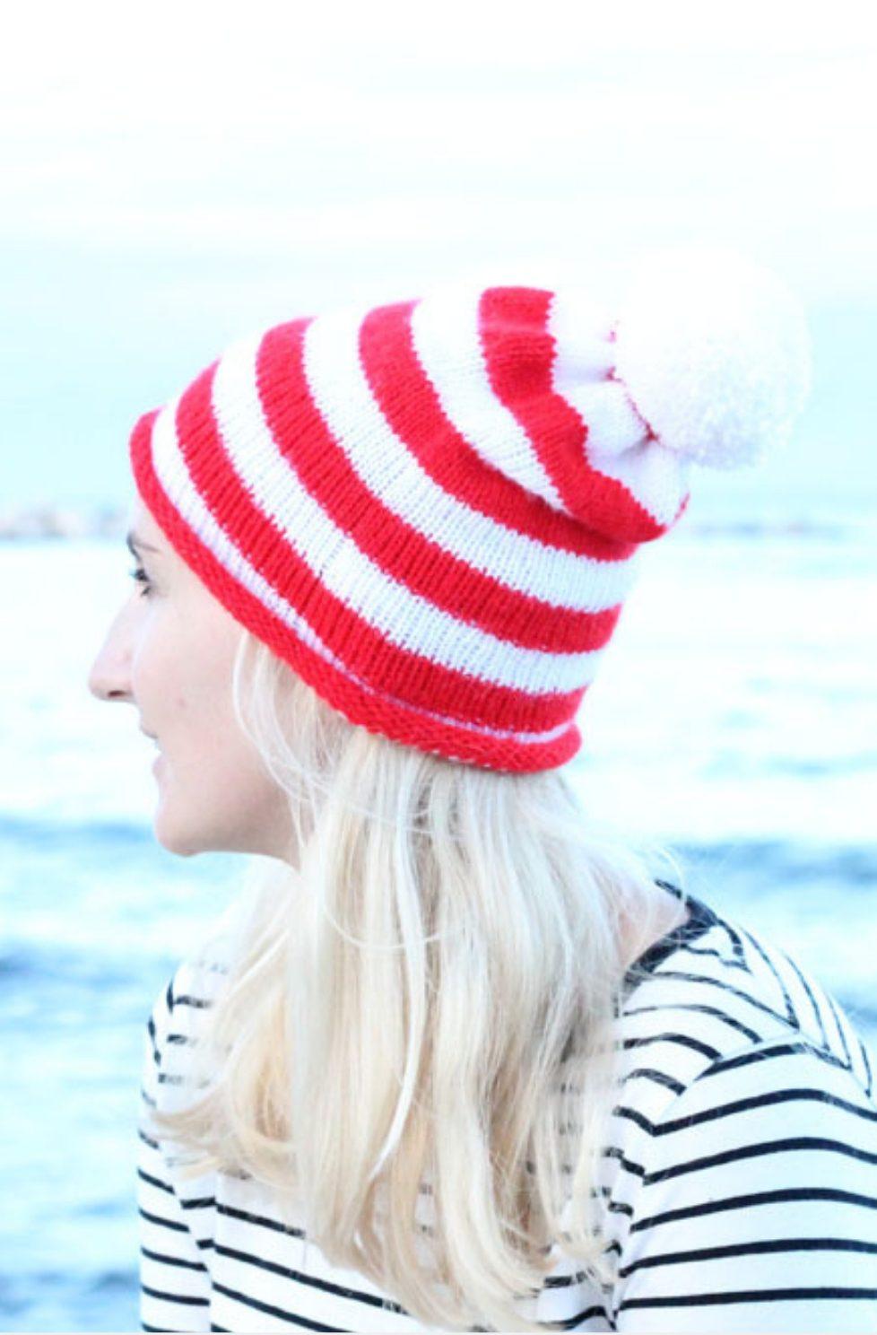 Striped Beanie Pattern