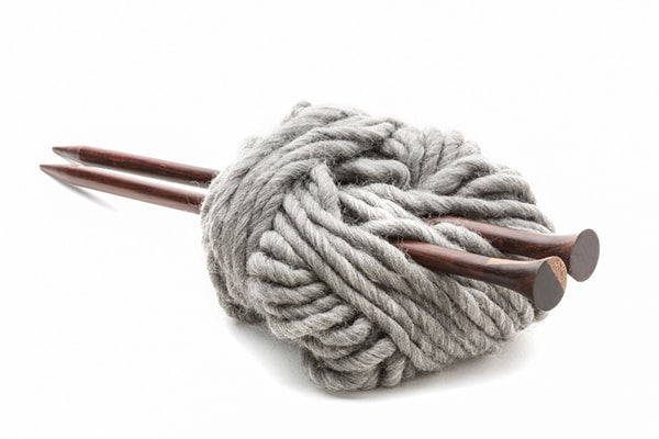 super bulky yarn and needles