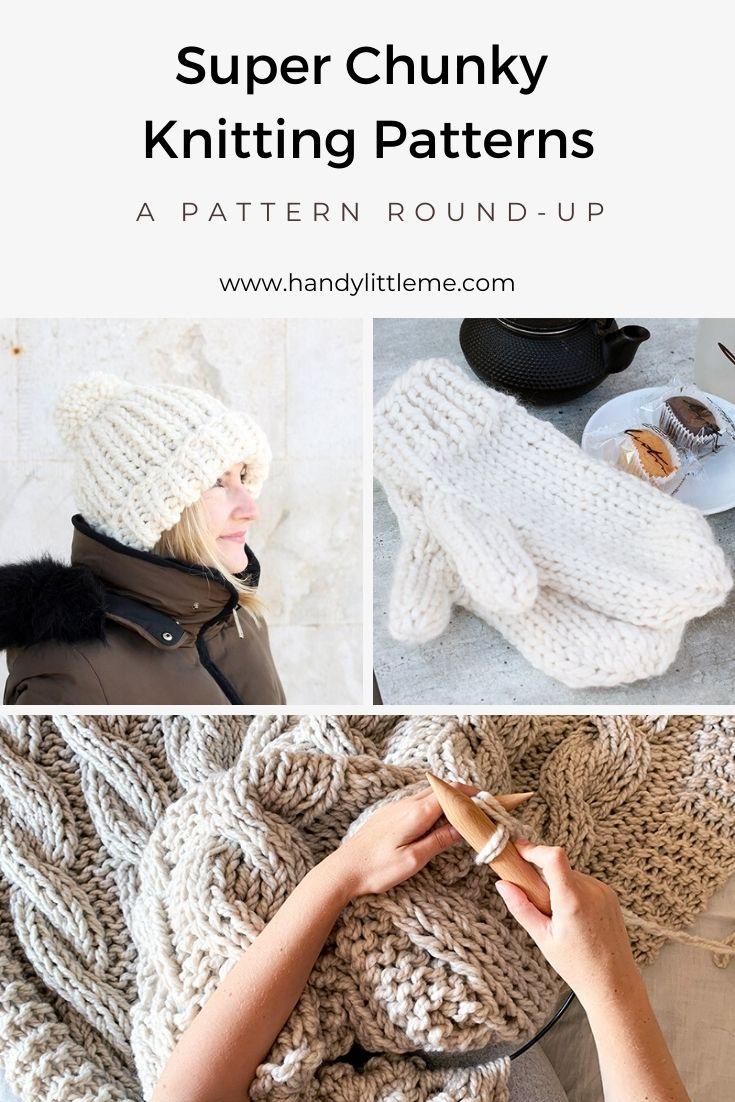 Super chunky knitting patterns
