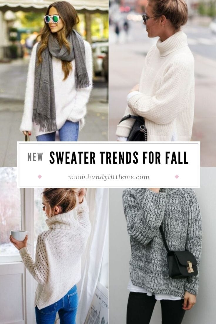 Sweater trends for fall