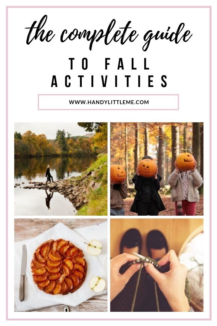 The Complete Guide To Fall Fun!