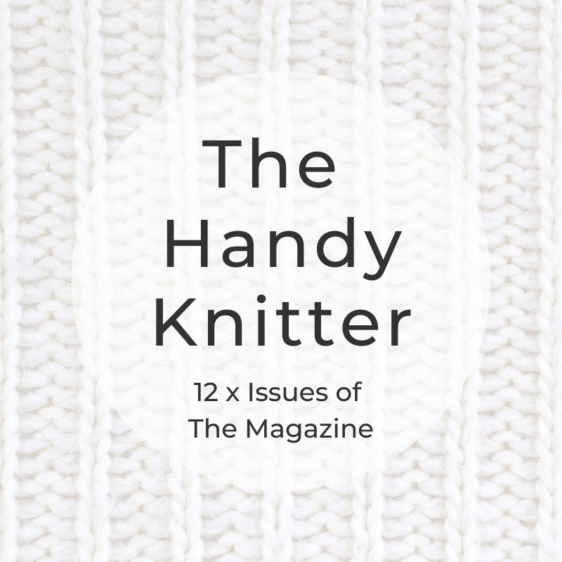 The handy knitter 12 issues cover