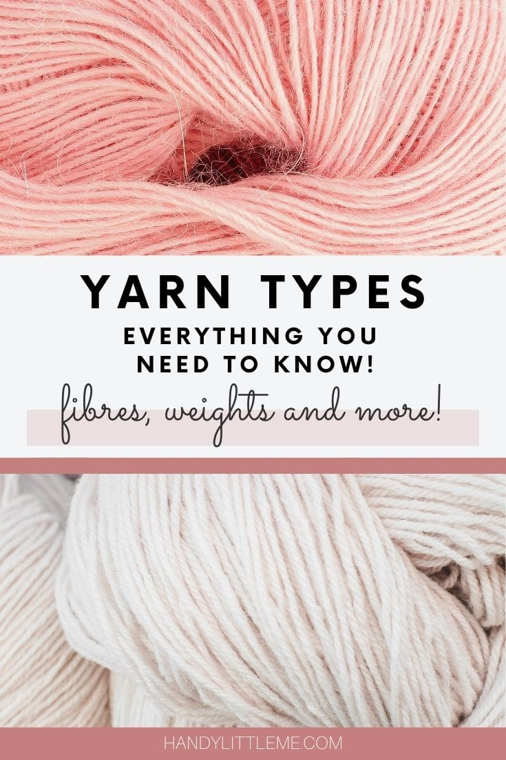 Yarn types - everything you need to know
