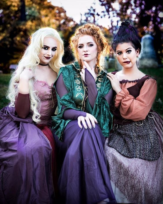 Halloween ideas Hocus Pocus Witches costume