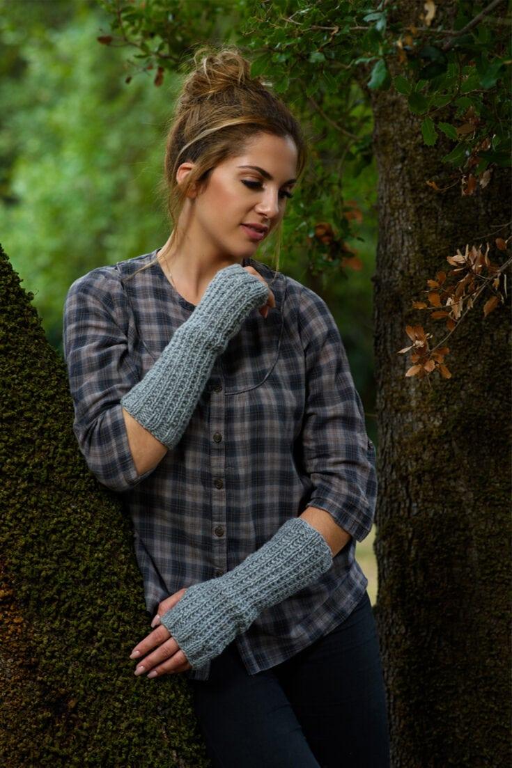 Fingerless Mittens Pattern | Outlander Claire