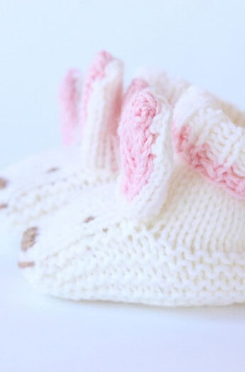 Bunny Slippers For Baby {Perfect For Easter!}