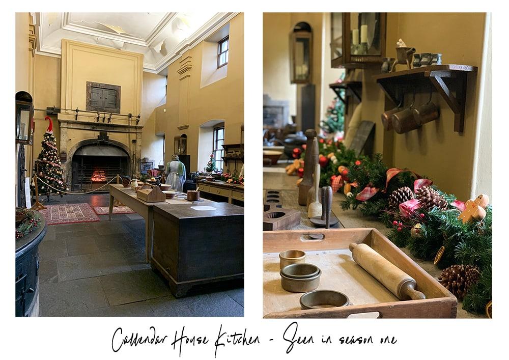Callendar house kitchen Outlander tour in Scotland review