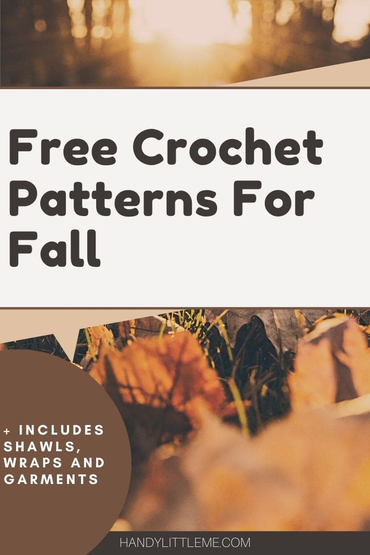 crochet projects for fall