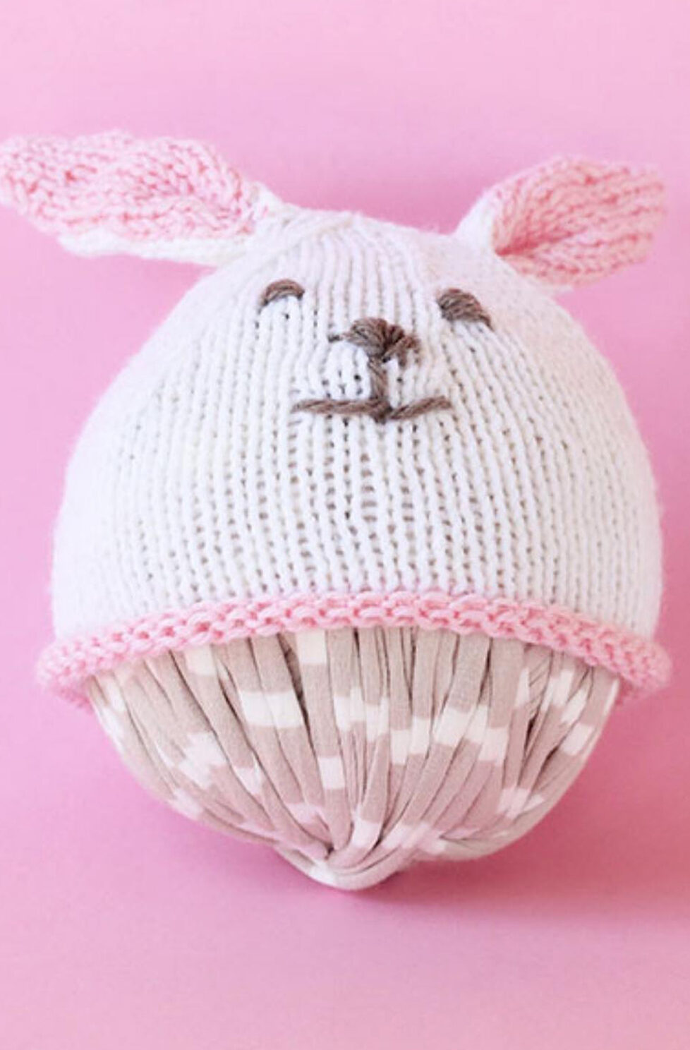 Easter Bunny Hat {Knit Flat}