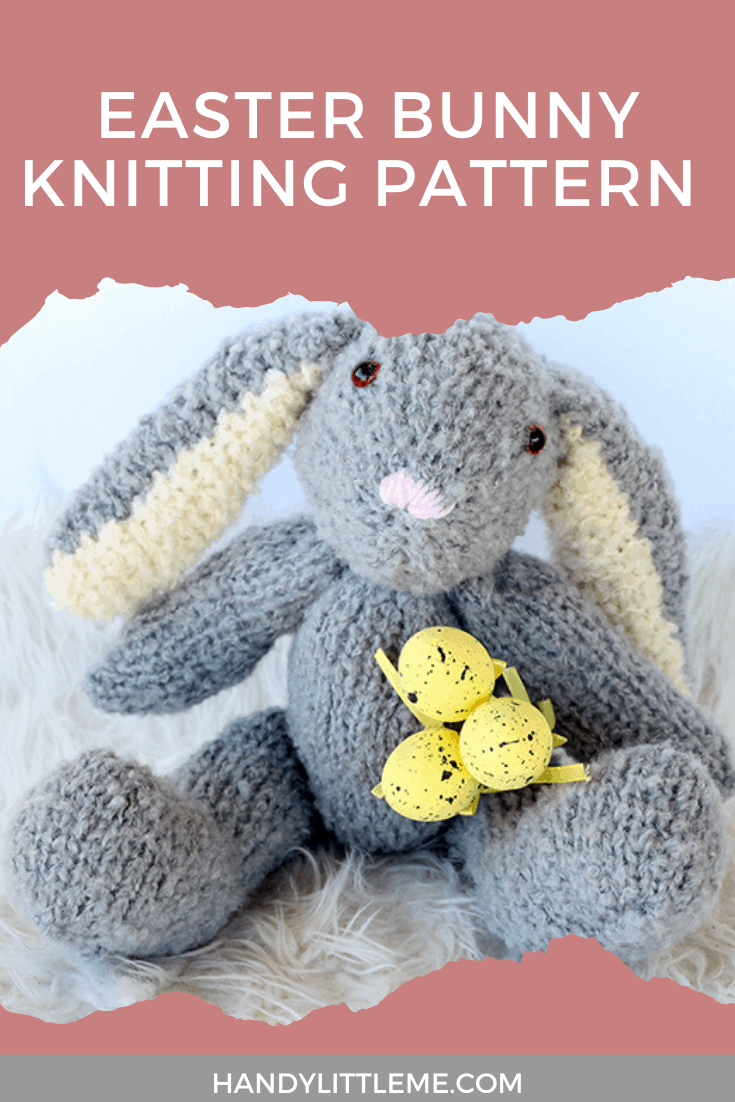 Easter bunny knitting pattern